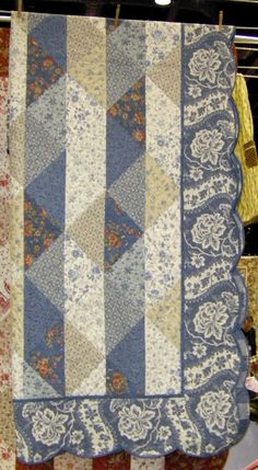 french general quilt - love their fabric!!