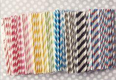 birthday, color, stripe straw, paper straws, stripey straw, parti idea