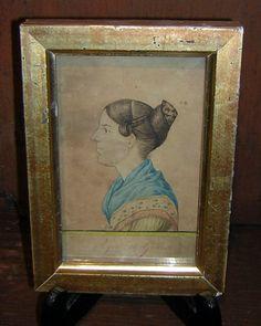 RUFUS PORTER Miniature Portrait | Starr Antiques
