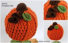 Infant Pumpkin Hat, free