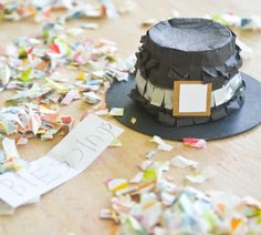 pilgrim hat mini pinata  {Jacks & Kate}