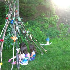 side yard Fairy play