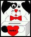 Doggie Kleenex Box Card holder valentin card, box idea, box card, kleenex box, card holders, card box