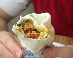 Southwest Steak and Egg Breakfast Burritos | Lauren's Latest