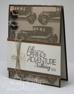 Wickedly Wonderful Creations: Senility?? - Masculine Cards