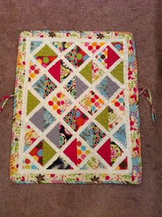 The Gregory Family: Car Seat Quilt