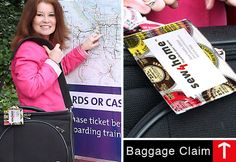 Scrapbuster: Travels: Luggage Tag