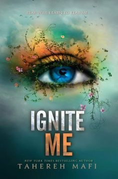 Ignite Me (Shatter Me 3) by Tahereh Mafi.  (February 4, 2014)  With Omega Point destroyed, Juliette doesn't know if the rebels, her friends, or even Adam are alive. Now she must rely on Warner, the handsome commander of Sector 45. The one person she never thought she could trust. The same person who saved her life. He promises to help Juliette master her powers and save their dying world . . . but that's not all he wants with her.