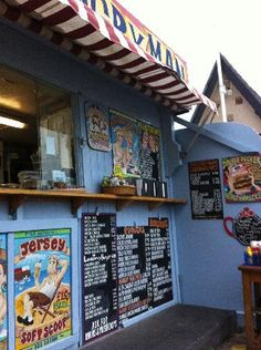 The Hungry Man - One of the best beach cafes in Jersey.