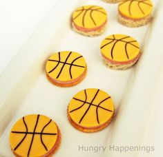 Basketball Cheese Snacks! #MarchMadness