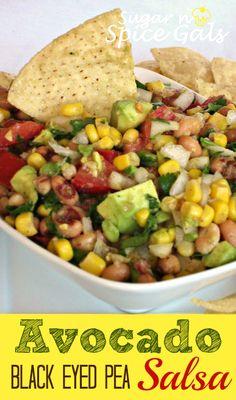 Avocado and Black Eyed Pea Salsa Recipe