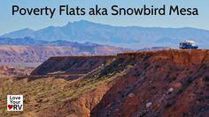 Free Camping at Poverty Flats AKA Snowbird Mesa, Nevada - http://www.loveyourrv.com/poverty-flats-aka-snowbird-mesa-free-camping/