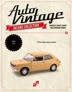 un altro modello senza tempo della nostra storia: #Fiat 127 (1971)! #auto #vintage #edicola #collezione