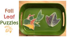 leaf puzzles great for fall!