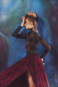 Kamila Filipcikova by Glynis Selina Arban for Lula Fall 2012  https://www.facebook.com/Fashionisinlove