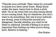 Cherish your #solitude