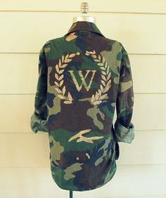 Wobisobi: Glided Camo Jacket, DIY.