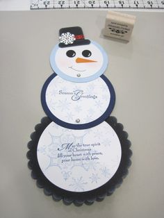 telescoping snowman