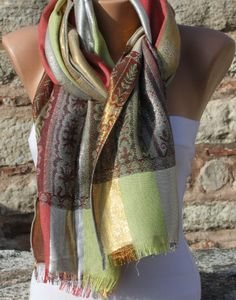 WINE SCARF  - BY FATWOMAN, $15.00