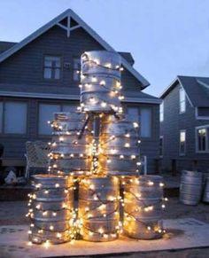 Redneck Christmas yard display