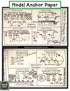 Alternate strategies for multiplication, division, addition, and subtraction!!!