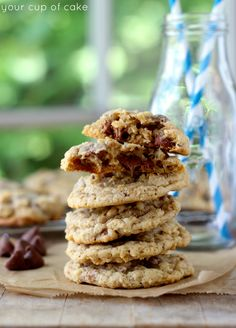 Famous Oatmeal Chocolate Chip Cookies