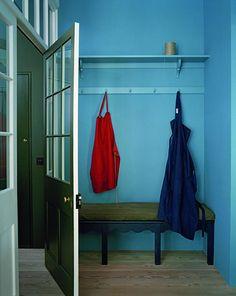 doors, interior, hall, designer kitchens, color, boot room, hous, coats, farm kitchen