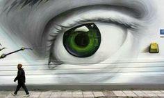 artists, athens greece, urban art, graffiti, street art, mural, wall, eyes, streetart