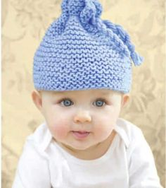 #Baby hat with a twist :) #knit #project