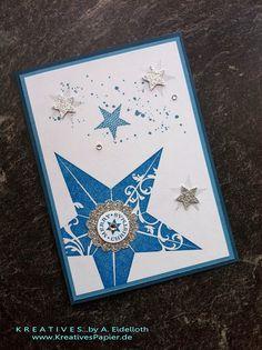 CHRISTMAS. Star Single Stamp..