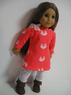 American Girl Doll Clothes What does the Fox by 123MULBERRYSTREET, $24.00