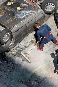 geek, cleanses, real captain, captain america, chris evan, help clean, lead actor, the avengers, superhero