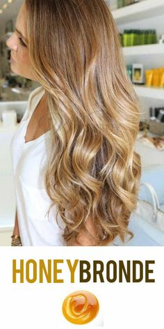 2014 Hair Trend: Honey Bronde Hair Color! The perfect combination of golden blonde and brown hues! #hairtrends #bronde #haircolor