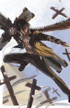 unbeliev awesom, wolf wood, trigun addict, animecharact art, extrem art