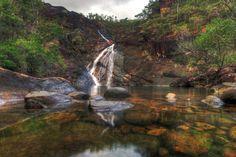 Zoe Falls on Hinchinbrook Island. #waterfall #swimmingholes #thisisqueensland