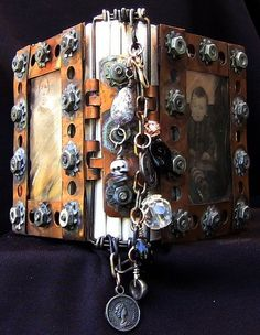 Tiny Copper & Glass Journal by BlackSheepArtist, via Flickr