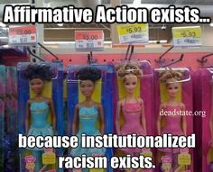 Institutionalized Racism Still Exists.