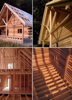 Building scale models of log homes: you should do it!
