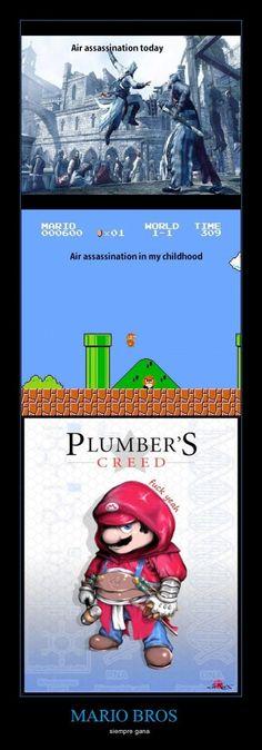Mario = Air Assassin