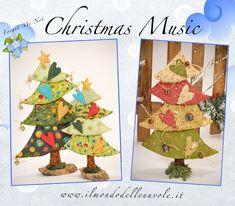 CHRISTMAS MUSIC USA  epattern by ilmondodellenuvole on Etsy, $13.00