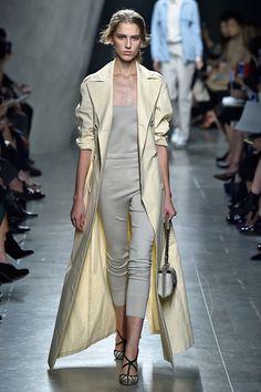The 10 Milan Fashion Week Trends To Watch #refinery29  http://www.refinery29.com/milan-fashion-week-trends-2014#slide8  Bottega Veneta