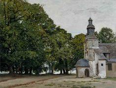 La Chapelle de Notre-Dame-de Grace, Honfleur, 1864, Claude Monet