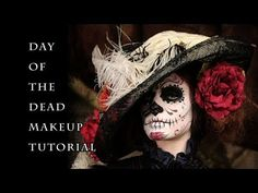 Day of the Dead Makeup Tutorial - YouTube. Dia De Los Muertos (Day of the Dead) Makeup.