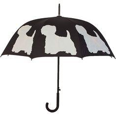 West Highland White Terrier Stick Umbrella