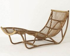 Rattan furniture on pinterest lounge chairs chairs and for Chaise longue rattan sintetico