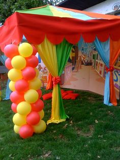 circus themed party | Tumblr