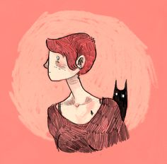 I love this drawing by Noelle from gingerhaze on tumblr!