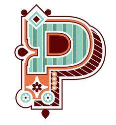 Typography :: Letter P - by Jonny Wan