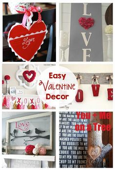 Easy Valentine Decor
