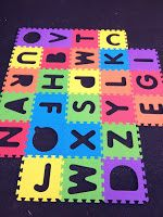mix up letters or hide letters around yard